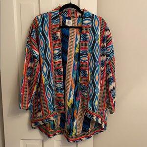Anthropologie Textile Jacket (DRA)
